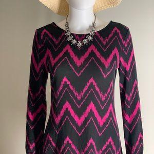 Cloud & Sky Hacci Sweater Dress Purple
